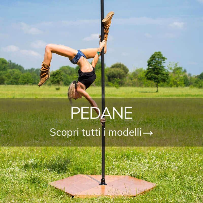 Pole dance pedane