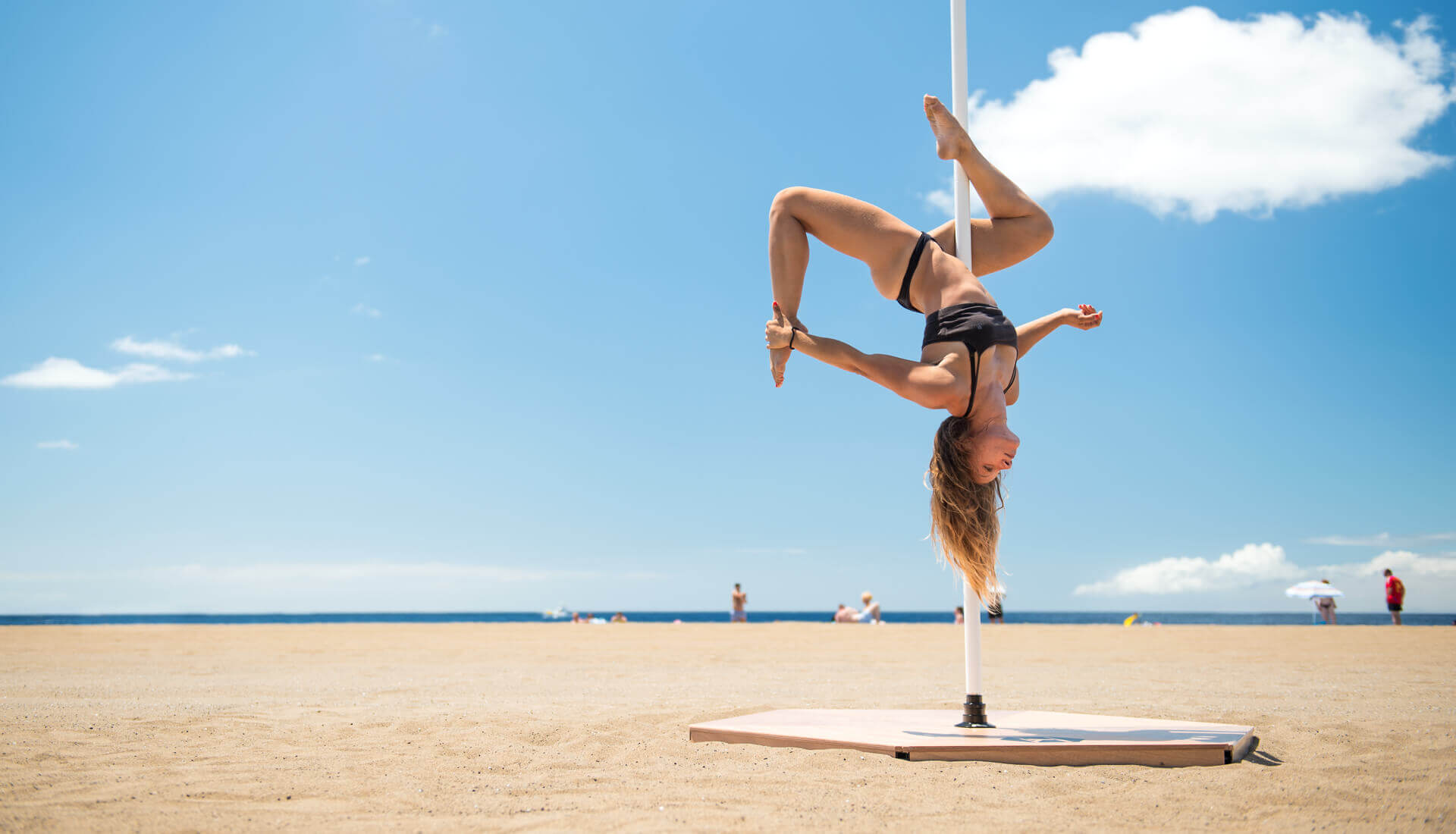 Pedana pole dance professionale