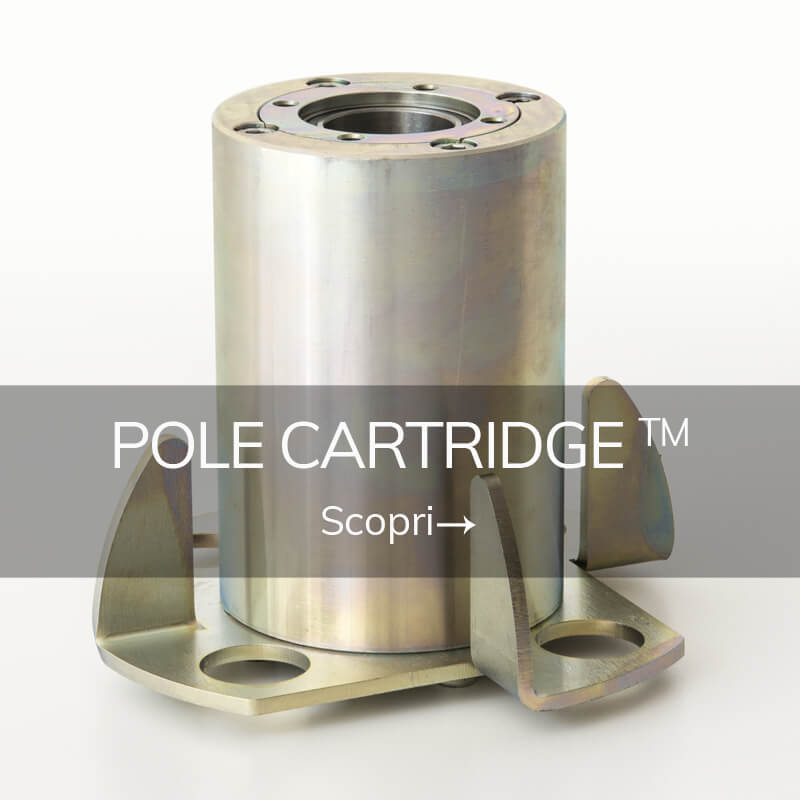 Accessori pole dance pole cartridge