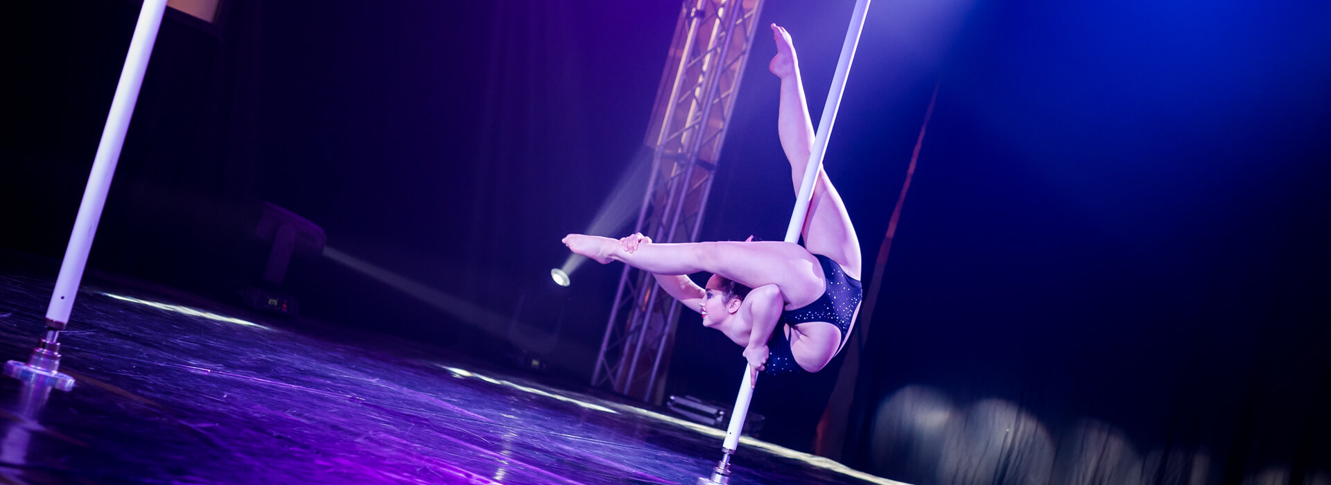 Barres a pole dance static