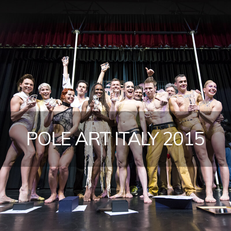 Photo pole dance pole art Italy 2015